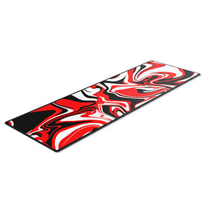Red Berry XL Extra Large Gaming Mouse Mat - Anti-Slip Pad For PC Macbook Laptop