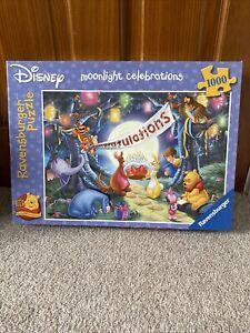 Ravensburger Disney Winnie The Pooh Moonlight Celebrations 1000 Piece Puzzle