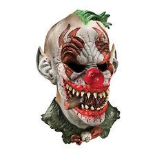 Psycho Clown Mask Wide Smile ICP Evil Cigar Creepy Joker Costume Adult Mens NEW