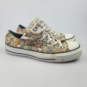 Women's CONVERSE 'CT Low' Sz 6 US Shoes Floral GCon Canvas | 3+ Extra 10% Off
