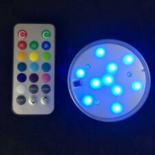 Waterproof LED Underwater Spot Lamp+Remote Control Pool Pond RGB Light New