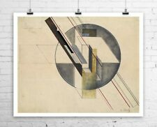 Gustav Klutsis Construction 1921 Abstract Fine Art Canvas Giclee Print 29x24 in.