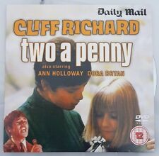 Cliff Richard Two A Penny DVD (Newspaper Promo)