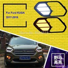 For Ford Escape Kuga 2017-2018 Day Light Fog Lights Fog Lamps LED Driving Light