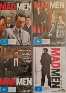 Mad Men Seasons 1, 2, 3 & 4 Dvd Bundle