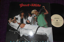 "GREAT WHITE   ""Recovery-Live ""  1987 LP (CANADA )  ENIGMA  D11G-73295"
