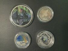 Canadian Commemorative Collection - 4 coins - Nature Theme