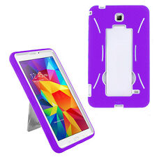 "Hard PC Case Cover For Samsung Galaxy Tab 4 Nook 7.0""/7-Inch T230 Tablet Stand"
