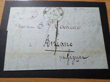 MARQUE CACHET GIGNAC/ANIANE FRANCE 1840, LETTRE COVER