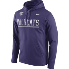 New Nike Kansas State Wildcats Therma-Fit Circuit Stay Warm Pullover Hoodie 3XL