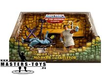 MOTU CLASSICS -  Mo-Larr vs. Skeletor SDCC Exclusive Set - NEW! Ungeöffnet