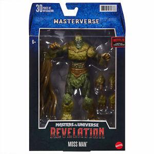 Mattel Masters of the Universe Revelation Masterverse Actionfigur Moss Man