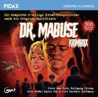 DR.MABUSE-KRIMIBOX - DR.MABUSE   CD NEU