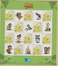 Stamps Australia 2014 Blinky Bill & Nutsy pair sheetlets in post office pack
