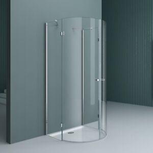 Runddusche Duschkabine Duschabtrennung Duschwand Halbkreis Dusche R3-Plus