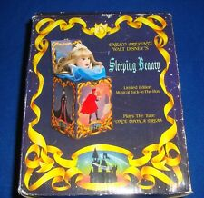 Enesco Disney Musical Jack In The Box  LE 57 Musical SLEEPING BEAUTY, w/ Box