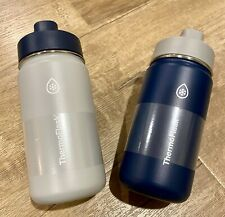 Thermo Kids 14 oz Stainless Steel Insulated Water Bottle BPA Free Straw Lid