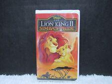 1994 The Lion King II Simba's Pride, Walt Disney, Clamshell Case, VHS Tape