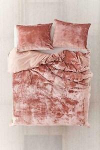 Ultra Luxury Crushed Velvet Duvet Cover Bohemian Bedding Stylish Comforter Cover