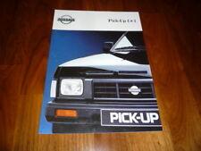 Nissan Pick Up Prospekt 09/1991