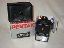 Pentax AF200SA flash.
