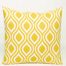 Cotton Blend Geometric Decorative Cushion Covers