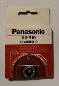 Panasonic Printwheel KX-R10 Courier 10 NEW