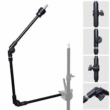 "3-Section 360° Adjustable Articulated Articulating Boom Arm w/ 1/4"" 3/8"" Thread"