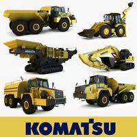 KOMATSU WA500-1 WHEEL LOADER Service & Repair Manual