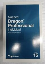 Nuance Dragon Professional Individual 15 FULL VERSION - Original Retail Box