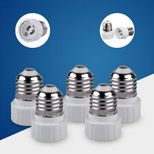 5 PCS E27 to GU10 Lamp Light Bulb Extend Base Socket Adaptor Adapter Converter