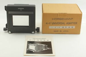 [MINT] HORSEMAN 4x5 UNIVERSAL ADAPTER 6x9 to 4x5 For HORSEMAN VH VH-R from JAPAN