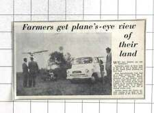 1961 Plane Agrochemicals Over Mr J Hole's Farm, Pakyns, Hurstpierpoint