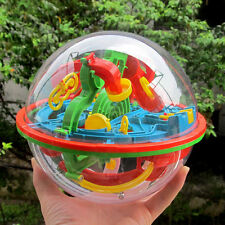 100 Barriers 3D Kids Large Intellect Ball Maze Addictaball Puzzle Game Toys Gift