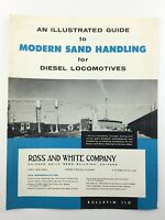Guide to Modern Sand Handling for Diesel Locomotives Rose and White Company Q853