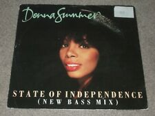 Donna Summer – State Of Independence (New Bass Mix)   1990