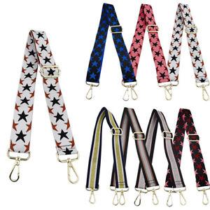 Womens DIY Adjustable Star Bag Shoulder Strap Crossbody Replacement For Handbag