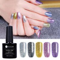 Glitter Platinum Soak Off UV Gel Polish Luxury Shining Varnish Nail Art Manicure