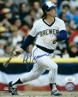 BREWERS Ted Simmons signed 8x10 photo JSA COA AUTO Autographed Milwaukee HOFer