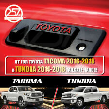 2 Sets TOYOTA TUNDRA / TACOMA (RED) Tailgate Handle Letters Decal Vinyl Sticker