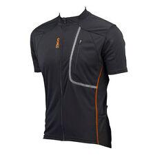 Abbigliamento arancione per ciclismo uomo taglia XL