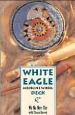 NEW White Eagle Medicine Wheel Deck: 46 Medicine Wheel Cards with 80 Page Book