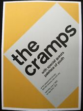 "Nirvana & The Cramps,Tad,The Gits 2 Sided Rock Mini Poster Op Art 14x10"", Ref:9"