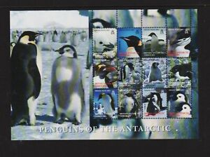 British Antarctic Territory - Penguins Souvenir sheet - cat. $ 29.00