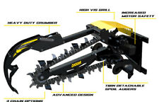 Digga Chain Trencher,suits Bobcats and Skid Steer Loaders