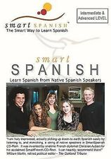 SmartSpanish Audio CDs Int/Adv - Learning Spanish the Smart Way by C. Aubert
