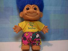 "I'M A BIG BROTHER - 5"" Russ Troll Doll - NEW IN ORIGINAL WRAPPER"