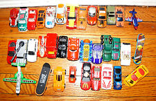 35 MODEL CARS TRUCKS PLANE SKATEBOARD Metal Plastic Mcdonalds Star Wars Duracell