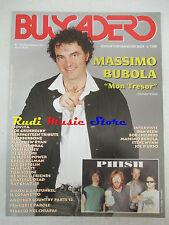 rivista BUSCADERO 185/1997 Bubola Dan Bern Sreve Wynn Phish Bob Childers No cd