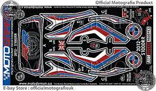 BMW S1000RR 2012 13 14 Rear Seat Fairing Number Board Motografix Gel Protector